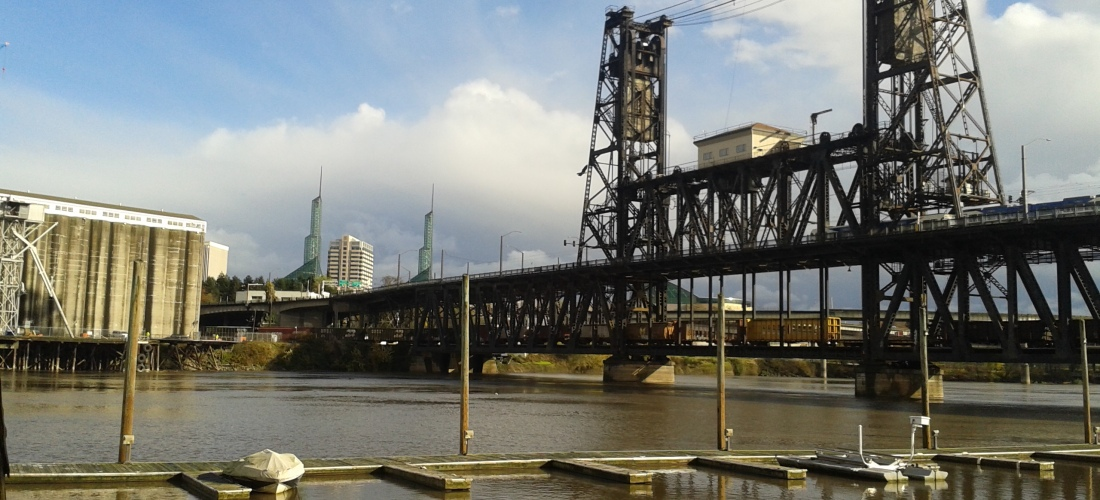 steel bridge portland oregon | michelle hy