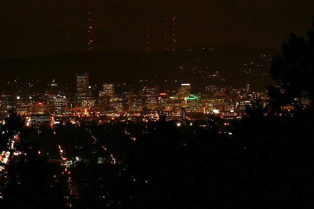 Mt tabor park summit night picture | michelle hy