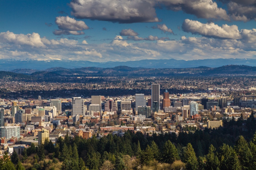 pittock mansion view | michelle hy
