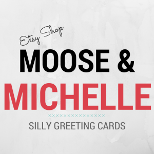 etsy moose and michelle logo