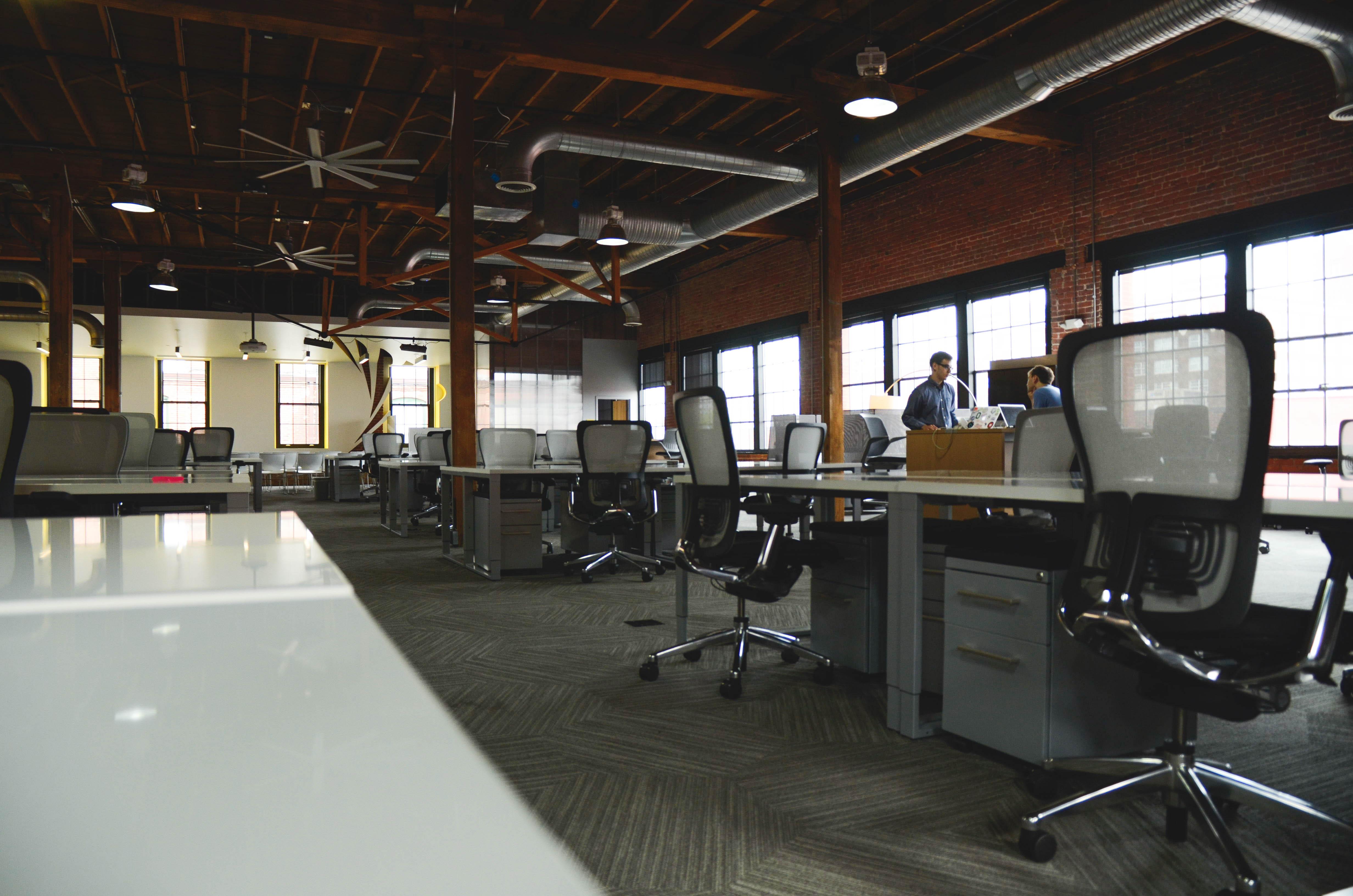 startup office desks | michelle hy